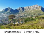 Beautiful View Of Cape Town An...