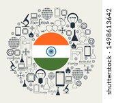 innovation and technology...   Shutterstock .eps vector #1498613642