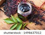Elderberry Jam And Fresh...