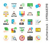 business. symbol of marketing ... | Shutterstock .eps vector #1498668398