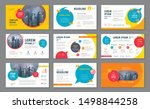 abstract presentation templates ... | Shutterstock .eps vector #1498844258