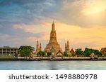 Wat Arun Temple In Bangkok...