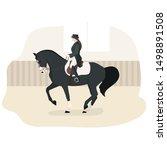 vector flat illustration of... | Shutterstock .eps vector #1498891508