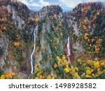 Autumn Scenery Of Ginga And...