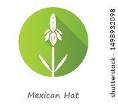 Mexican Hat Wild Flower Green...