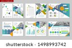 brochure creative design.... | Shutterstock .eps vector #1498993742