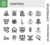 set of control icons such as... | Shutterstock .eps vector #1499002928