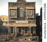 Rustic Western Antique Town...