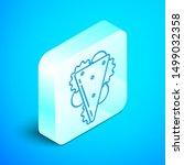 isometric line sandwich icon...   Shutterstock .eps vector #1499032358