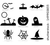 vector illustration set with... | Shutterstock .eps vector #149903855