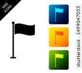 flag icon isolated. location...