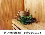Interior Details Finnish Sauna...
