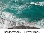 Seashore With Rolling Waves ...