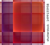 red squares decoration.... | Shutterstock . vector #1499155958