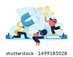 customer feedbacks analyzing ... | Shutterstock .eps vector #1499185028