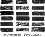 grunge post stamps collection ... | Shutterstock .eps vector #1499263268