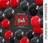 black friday sale banner... | Shutterstock .eps vector #1499323238
