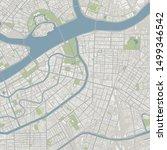 vector city map  st. petersburg   Shutterstock .eps vector #1499346542