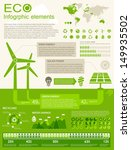 ECO Infographic elements - stock vector