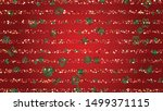winter vector background with... | Shutterstock .eps vector #1499371115