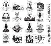 Radio Station Logo. Music...