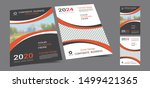 poster cover book design... | Shutterstock .eps vector #1499421365
