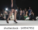 spectators watching a model... | Shutterstock . vector #149947952