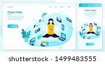 vector cross platform... | Shutterstock .eps vector #1499483555