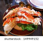Food Crab Of Legs  Alaska Food