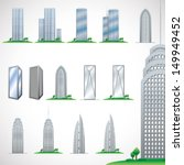 skyscrapers | Shutterstock .eps vector #149949452