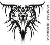 tattoos horns. | Shutterstock .eps vector #149950706