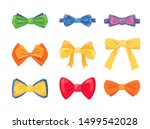 fashion tie bow accessories... | Shutterstock .eps vector #1499542028