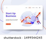 landing page start up business...