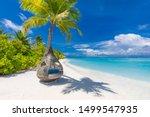 Tropical Beach Background As...