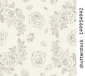 elegance seamless pattern with... | Shutterstock .eps vector #149954942