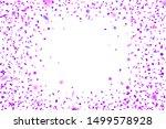 purple  confetti. falling...   Shutterstock .eps vector #1499578928
