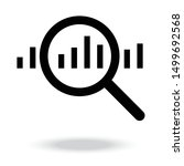 analysis icon vector...   Shutterstock .eps vector #1499692568