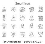 smart  genius  intelligence...   Shutterstock .eps vector #1499757128