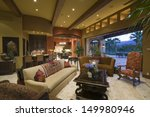 Living Room With Dining And...