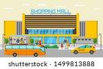 shopping mall transport stop... | Shutterstock .eps vector #1499813888