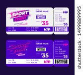 competition sport event ticket  ... | Shutterstock .eps vector #1499889995