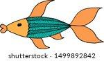 vector iilustration of unusual... | Shutterstock .eps vector #1499892842