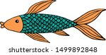 vector iilustration of unusual... | Shutterstock .eps vector #1499892848