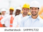 group of architects and... | Shutterstock . vector #149991722