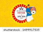 durga puja festival offer... | Shutterstock .eps vector #1499917535