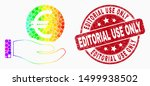 dotted rainbow gradiented hand... | Shutterstock .eps vector #1499938502