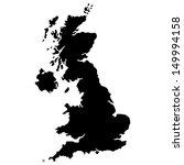 high detailed united kingdom... | Shutterstock .eps vector #149994158