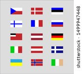 flags of europe. this... | Shutterstock .eps vector #1499947448