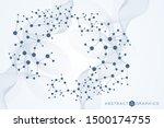 big data visualization...   Shutterstock .eps vector #1500174755
