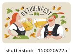 oktoberfest  beer festival....   Shutterstock .eps vector #1500206225